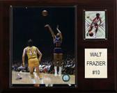 """NBA 12""""x15"""" Walt Frazier New York Knicks Player Plaque"""