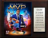"""NBA 12""""x15"""" Kevin Durant Oklahoma City Thunder 2013-14 MVP Plaque"""