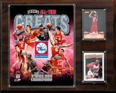 "NBA 12""x15"" Philadelphia 76ers All-Time Great Photo Plaque"