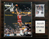 "NBA 12""x15"" Julius Erving Philadelphia 76ers Player Plaque"