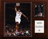 "NBA 12""x15"" Andre Iguodala Philadelphia 76ers Player Plaque"