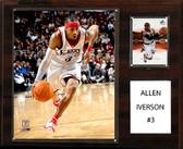 "NBA 12""x15"" Allen Iverson Philadelphia 76ers Player Plaque"