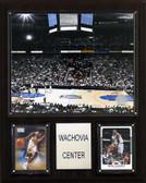 """NBA 12""""x15"""" Wachovia Center Arena Plaque"""