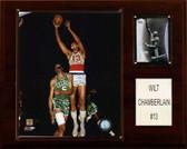 "NBA 12""x15"" Wilt Chamberlain Philadelphia 76ers Player Plaque"