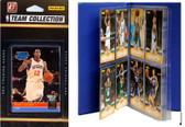 NBA Philadelphia 76ers Licensed 2010-11 Donruss Team Set Plus Storage Album