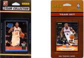 NBA Philadelphia 76ers 2 Different Licensed Trading Card Team Sets