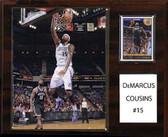 "NBA 12""x15"" DeMarcus Cousins Sacramento Kings Player Plaque"