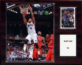 """NBA 12""""x15"""" Rudy Gay Sacramento Kings Player Plaque"""