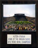 """NCAA Football 12""""x15"""" Autzen Stadium Stadium Plaque"""