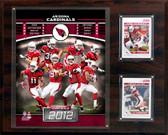 """NFL 12""""x15"""" Arizona Cardinals 2012 Team Plaque"""