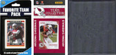 NFL Arizona Cardinals Licensed 2010 Score Team Set and Favorite Player Trading Card Pack Plus Storage Album