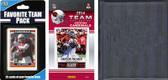 NFL Arizona Cardinals Licensed 2014 Score Team Set and Favorite Player Trading Card Pack Plus Storage Album