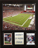 "NFL 12""x15"" University of Phoenix Stadium Stadium Plaque"