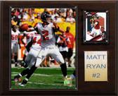 "NFL 12""x15"" Matt Ryan Atlanta Falcons Player Plaque"