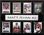 """NFL 12""""x15"""" Matt Ryan Atlanta Falcons 8-Card Plaque"""