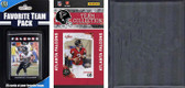NFL Atlanta Falcons Licensed 2010 Score Team Set and Favorite Player Trading Card Pack Plus Storage Album