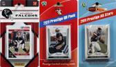 NFL Atlanta Falcons Licensed 2011 Score Team Set With Twelve Card 2011 Prestige All-Star and Quarterback Set