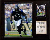 "NFL 12""x15"" Terrell Suggs Baltimore Ravens Player Plaque"