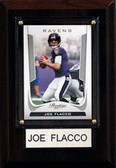 "NFL 4""x6"" Joe Flacco Baltimore Ravens Player Plaque"
