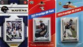 NFL Baltimore Ravens Licensed 2011 Score Team Set With Twelve Card 2011 Prestige All-Star and Quarterback Set