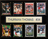 "NFL 12""x15"" Thurman Thomas Buffalo Bills 8-Card Plaque"