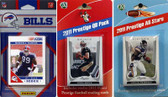 NFL Buffalo Bills Licensed 2011 Score Team Set With Twelve Card 2011 Prestige All-Star and Quarterback Set