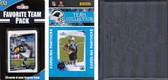 NFL Carolina Panthers Licensed 2010 Score Team Set and Favorite Player Trading Card Pack Plus Storage Album