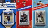 NFL Carolina Panthers Licensed 2011 Score Team Set With Twelve Card 2011 Prestige All-Star and Quarterback Set