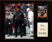 "NFL 12""x15"" Mike Ditka Chicago Bears Player Plaque"