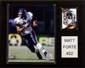 "NFL 12""x15"" Matt Forte Chicago Bears Player Plaque"