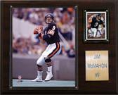 "NFL 12""x15"" Jim McMahon Chicago Bears Player Plaque"