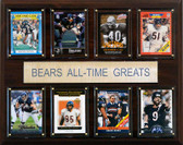 """NFL 12""""x15"""" Chicago Bears All-Time Greats Plaque"""