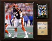 "NFL 12""x15"" Anthony Munoz Cincinnati Bengals Player Plaque"
