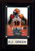 """NFL 4""""x6"""" A.J. Green Cincinnati Bengals Player Plaque"""