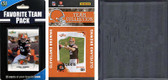 NFL Cleveland Browns Licensed 2010 Score Team Set and Favorite Player Trading Card Pack Plus Storage Album