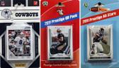 NFL Dallas Cowboys Licensed 2011 Score Team Set With Twelve Card 2011 Prestige All-Star and Quarterback Set