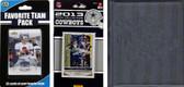 NFL Dallas Cowboys Licensed 2013 Score Team Set and Favorite Player Trading Card Pack Plus Storage Album