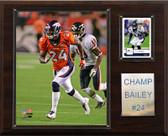 """NFL 12""""x15"""" Champ Bailey Denver Broncos Player Plaque"""