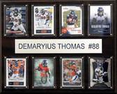 """NFL 12""""x15"""" Demaryius Thomas Denver Broncos 8-Card Plaque"""