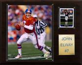 "NFL 12""x15"" John Elway Denver Broncos Player Plaque"