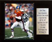 """NFL 12""""x15"""" John Elway Denver Broncos Career Stat Plaque"""