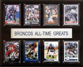 "NFL 12""x15"" Denver Broncos All-Time Greats Plaque"