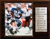 """NFL 12""""x15"""" Barry Sanders Detroit Lions Career Stat Plaque"""