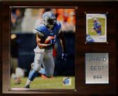 """NFL 12""""x15"""" Jahvid Best Detroit Lions Player Plaque"""