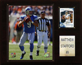 "NFL 12""x15"" Matt Stafford Detroit Lions Player Plaque"