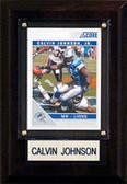 """NFL 4""""x6"""" Calvin Johnson Detroit Lions Player Plaque"""
