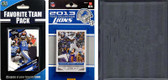 NFL Detroit Lions Licensed 2013 Score Team Set and Favorite Player Trading Card Pack Plus Storage Album