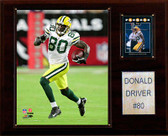 """NFL 12""""x15"""" Donald Driver Green Bay Packers Player Plaque"""