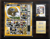 """NFL 12""""x15"""" Green Bay Packers 2010 NFC Champions Plaque"""