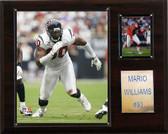 "NFL 12""x15"" Mario Williams Houston Texans Player Plaque"